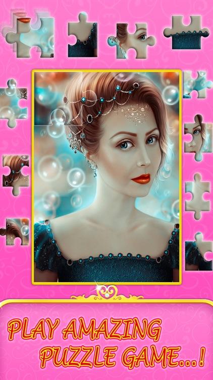 Angel princess puzzle app image