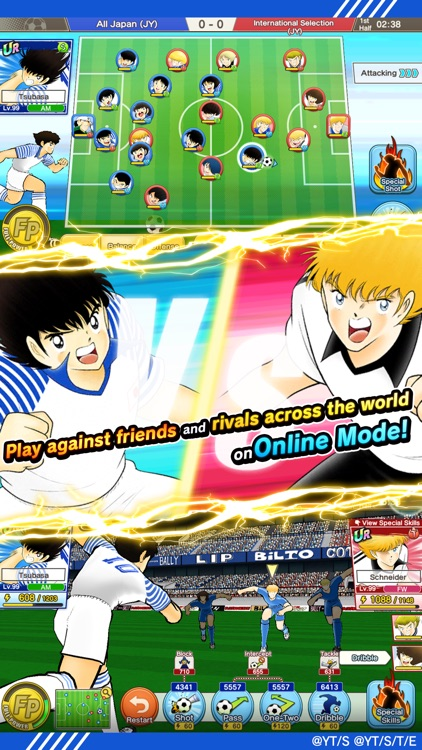 Captain Tsubasa: Dream Team screenshot-1