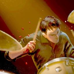 DrumKnee Drums 3D - Drum pad