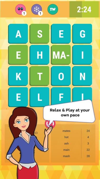 Wordathon: Classic Word game screenshot-4