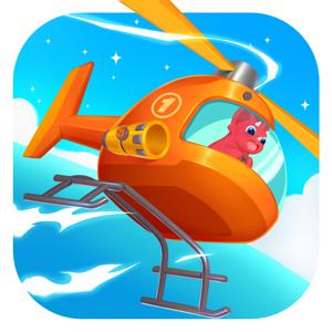 Dinosaur Helicopter - Education app