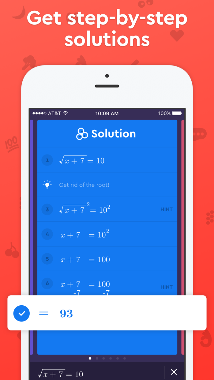 Socratic Math & Homework Help Screenshot