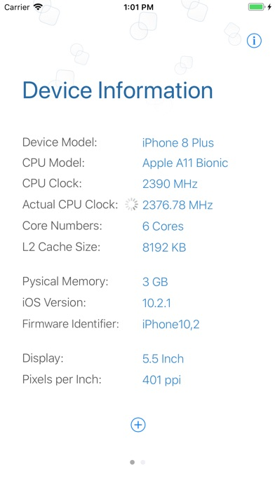Screenshot for Hazel - Check CPU Info in Italy App Store
