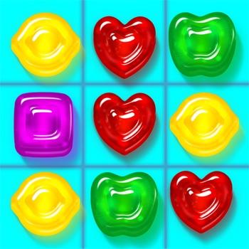 Gummy Drop!: een match 3-spel