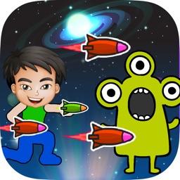 Lucky Ben VS Alien Terra