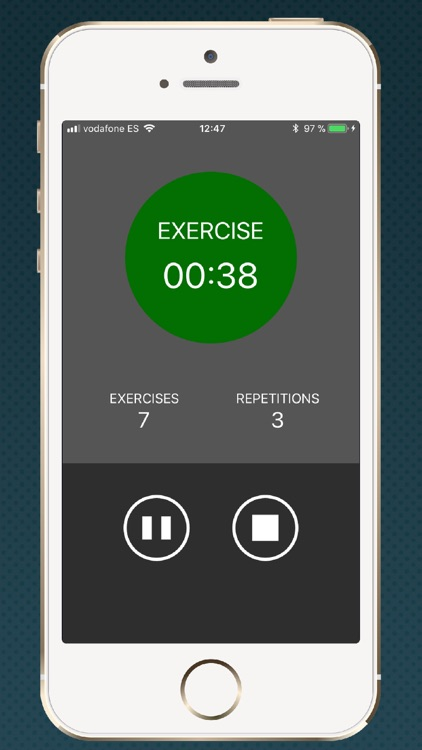 Timer for HIIT training