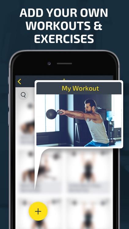 Workout: Gym tracker & planner screenshot-4