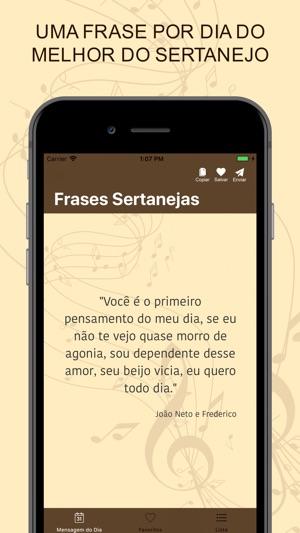 Frases Sertanejas En App Store