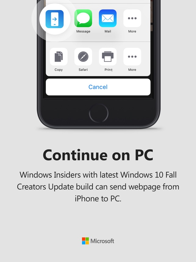 Continue On Pc On The App Store