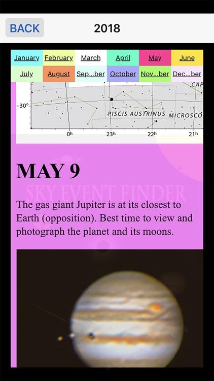 Sky Event Finder