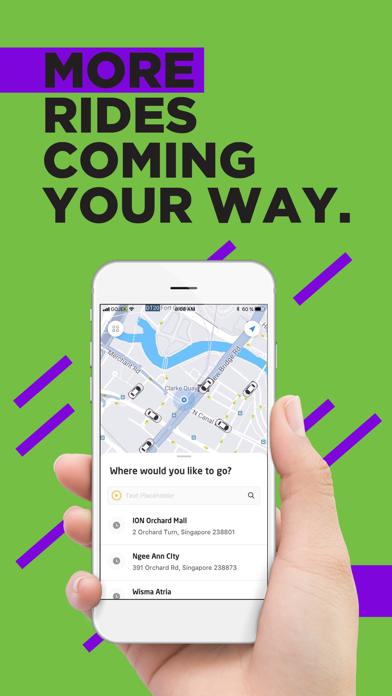 Screenshot for GOJEK in Singapore App Store