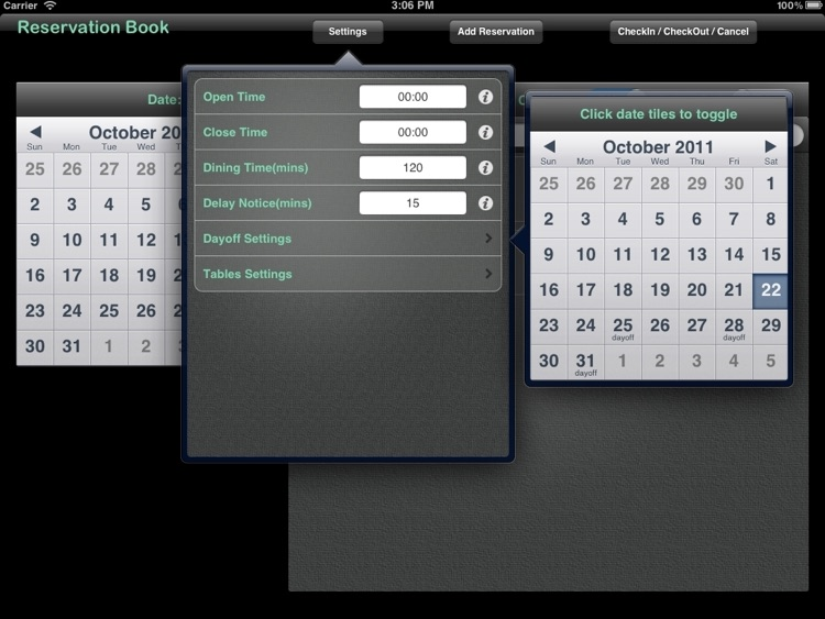 Reservation Book Pro screenshot-3