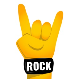 Rock Music Emoji App
