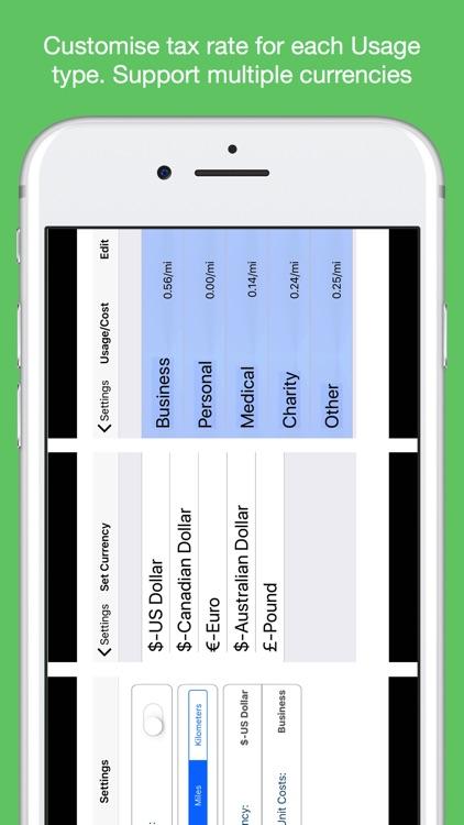 Auto Mileage Logbook TrackerHD screenshot-8