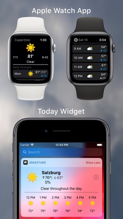 MWeather - Weather Forecast screenshot-4