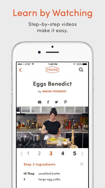 Panna: Video Recipes & Classes