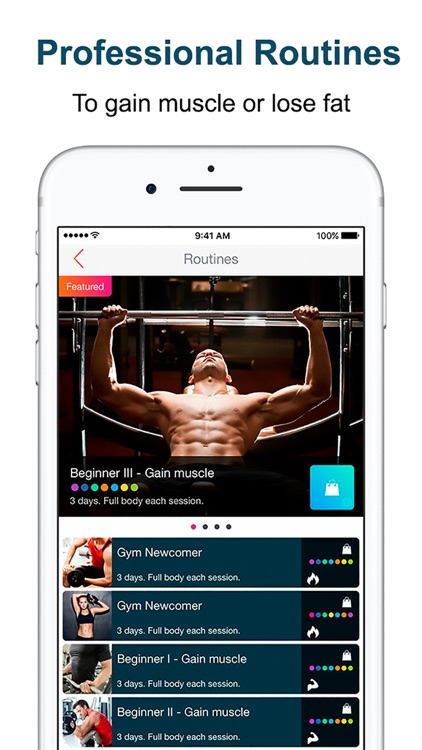 FitKeeper Weight Lifting Diary