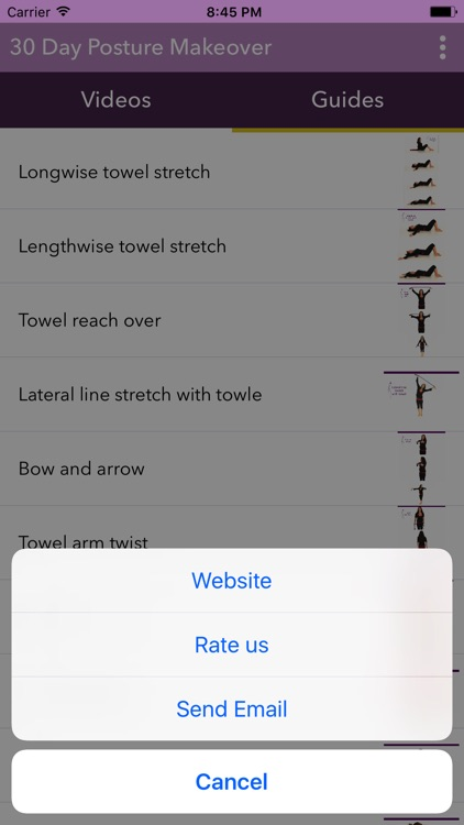 The 30 Day Posture Makeover screenshot-3
