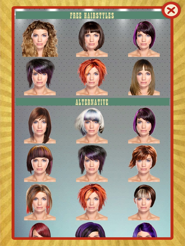 Your Perfect Hairstyle Women On The App Store - Hairstyles app online