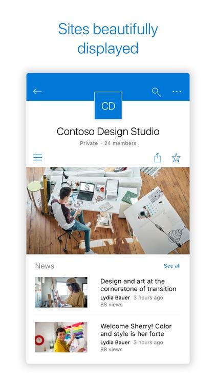 Microsoft SharePoint screenshot-5