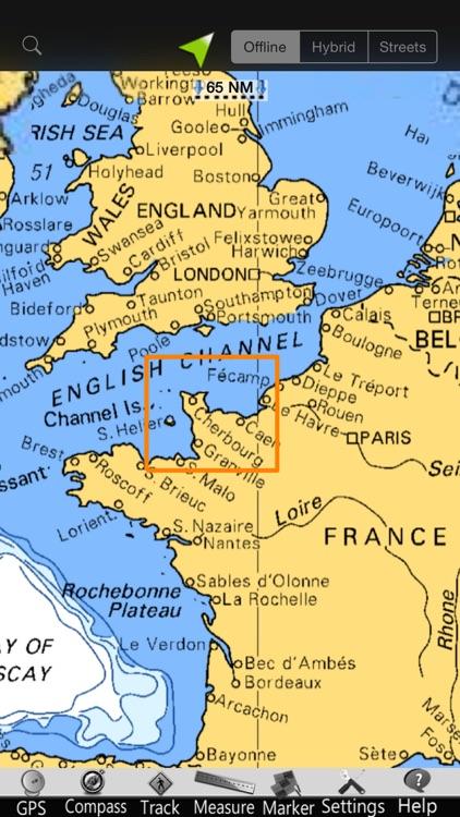 Lower Normandy Nautical Charts screenshot-4