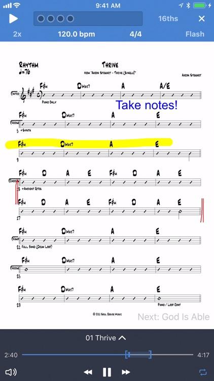 Planning Center Music Stand screenshot-3