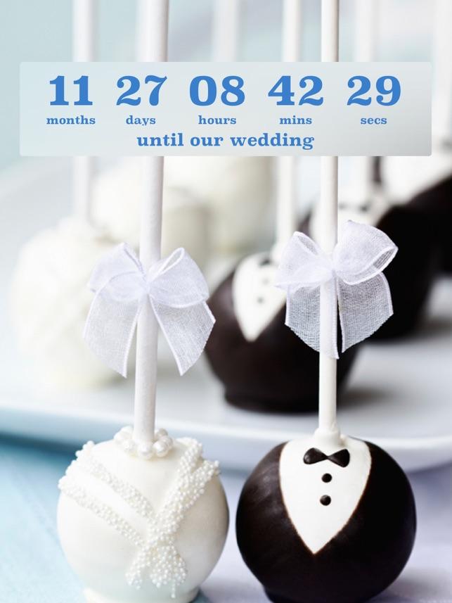 Wedding Countdown On The