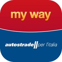 MY WAY  l'App ufficiale di Autostrade per l'Italia