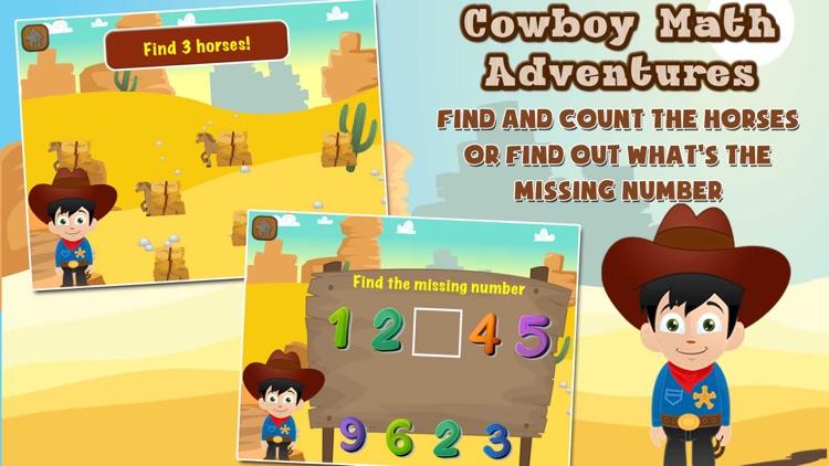 Cowboy Math Adventure screenshot-4