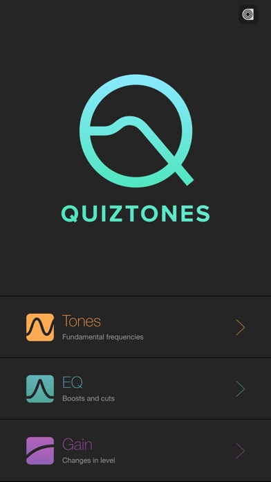 Quiztones: EQ Ear Training app image