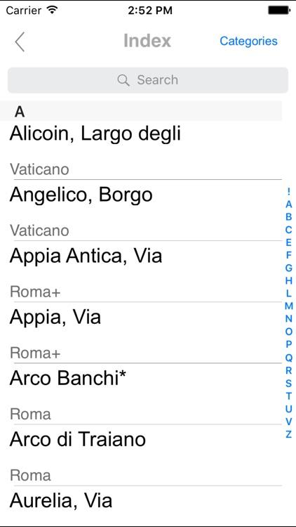 Rome. City map screenshot-3