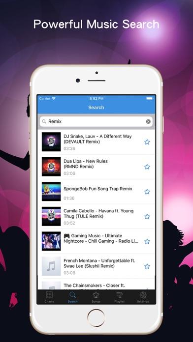 Music Stream & Player App screenshot two