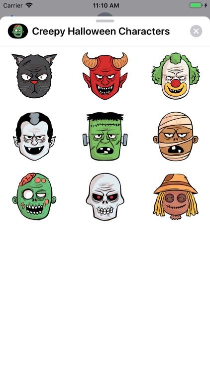 Creepy Halloween Characters