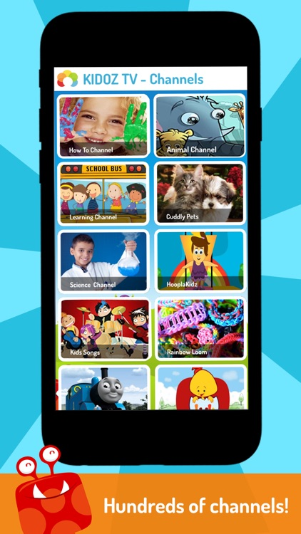 KIDOZ TV: Best Videos for Kids