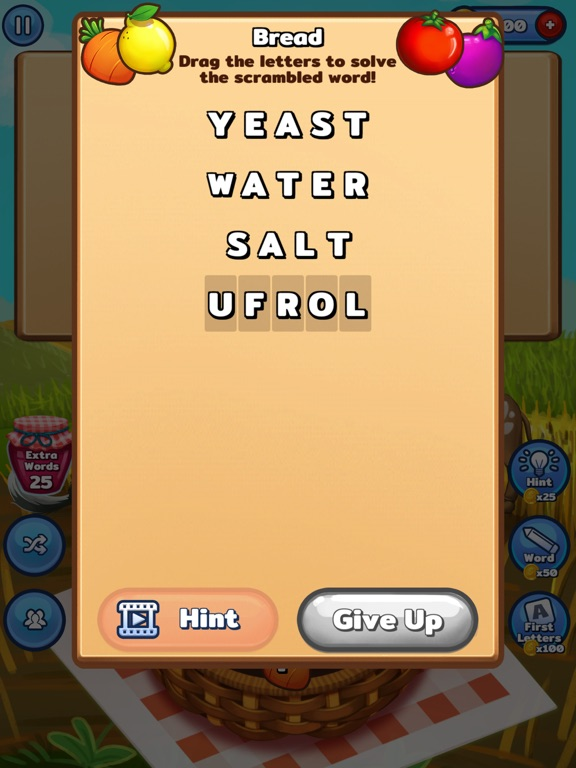 Image of Word Farm - Search Puzzle Game for iPad