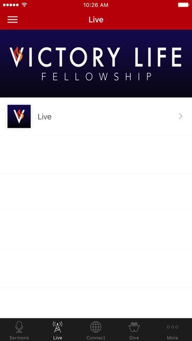 Victory Life Fellowship screenshot 2