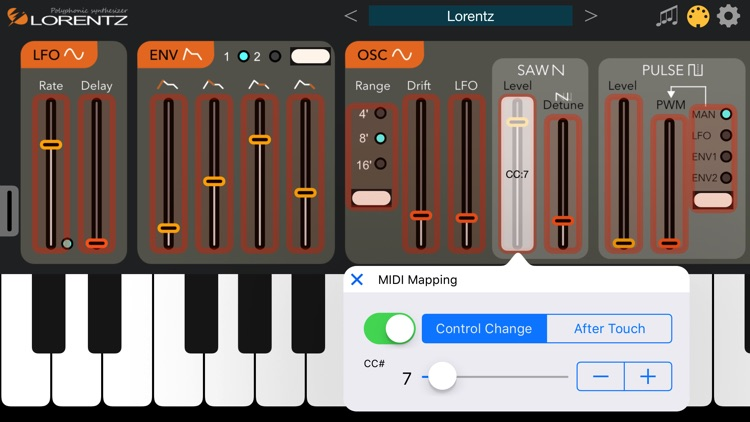 Lorentz Synthesizer screenshot-4