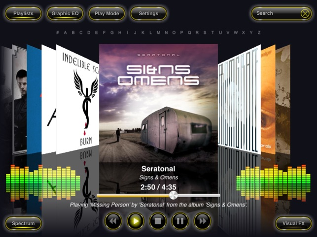 Reflection Music Player on the App Store