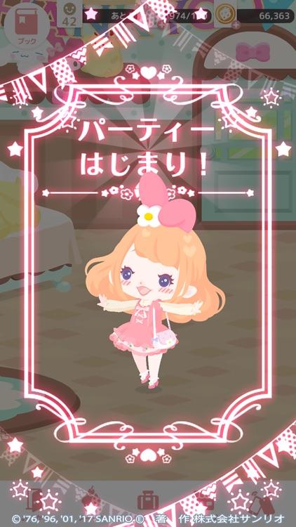 ハロースイートデイズ ~サンリオ着せ替えアプリ~ screenshot-4