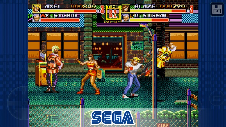 Streets of Rage 2 Classic screenshot-0