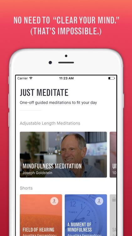 10% Happier - Mindfulness Guide screenshot-3
