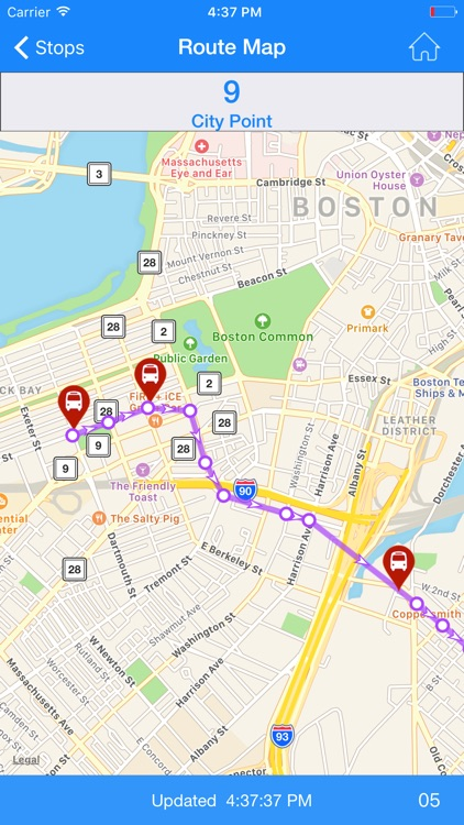 Where's my MBTA Bus?