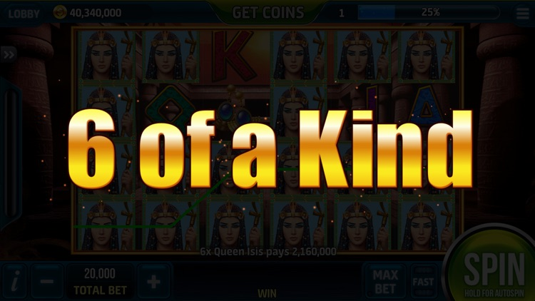 Slots Pharaohs ™ Vegas Casino screenshot-5
