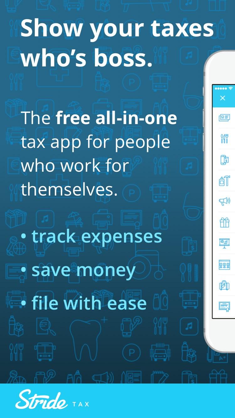 Stride Tax - Mileage Tracker Screenshot
