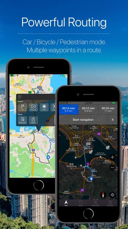 Hong Kong Offline Navigation