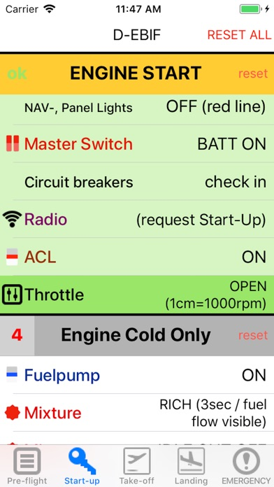 Screenshot for Checklist PA-28 in United States App Store