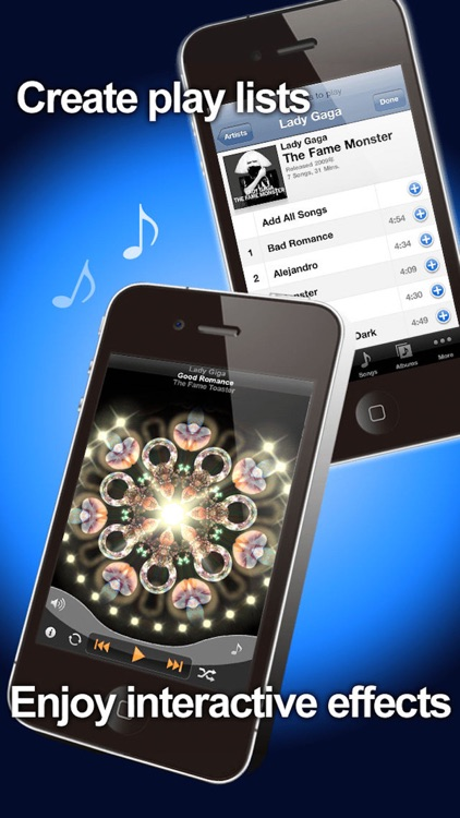 DreamTunes - Music Visualizer