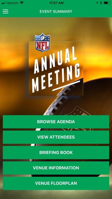 NFL Annual Meeting screenshot 1