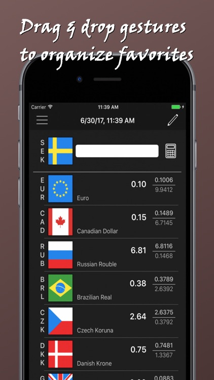 Rapid Currency Converter screenshot-3