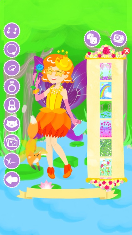 Fairy Fashion Show Dress Up Gold